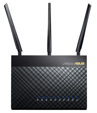 Asus RT-AC68U AC1900 Main - Best Tri-Band Routers - And Why Tri-Band?