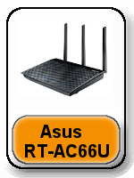 What is a Dual Band router - Asus RT-AC66U