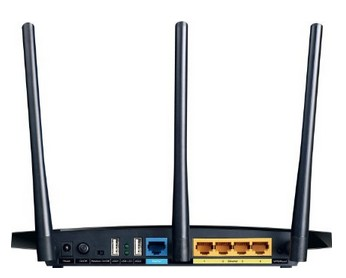 TP-Link Archer C7 AC1750 Back