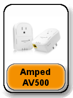 Amped AV500 butto