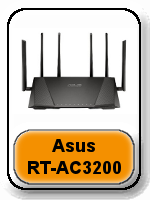 Asus RT-AC3200 button - Best Router For Xbox One