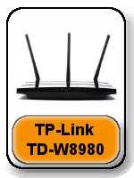 TP-link TD-W8980  Router - Best Wireless Router