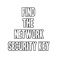 How To Find The Wireless Network Security Key
