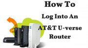 How To Log Into An AT&T U-Verse Router-Modem