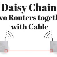 How To Daisy Chain Two Wireless Routers Using Wires