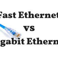 What's The Difference Between Fast Ethernet vs Gigabit Ethernet?