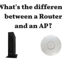 Difference Between Router and AP
