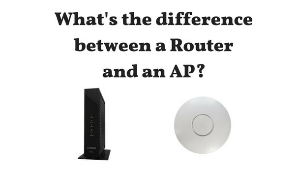 What's the differemce between a router and an AP