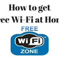 How To Get Free Wi-Fi At Home