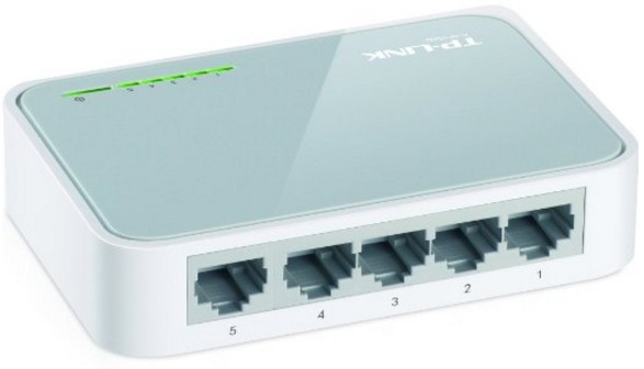 TP-Link TL-SF1005D 5-Port Fast Ethernet Desktop Switch