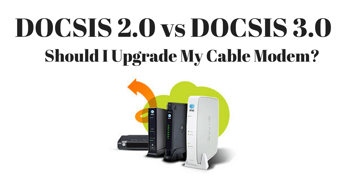 DOCSIS 2.0 vs DOCSIS 3.0 Featured