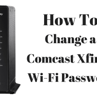 How To Change Comcast XFINITY Wi-Fi Password