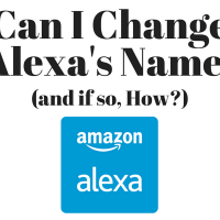 Can I Change Alexa's Name On Amazon Echo And Dot And How Do I Do It?