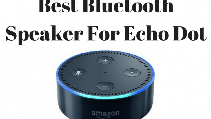 Best Bluetooth Speaker for Echo Dot