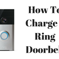How to Charge a Ring Doorbell