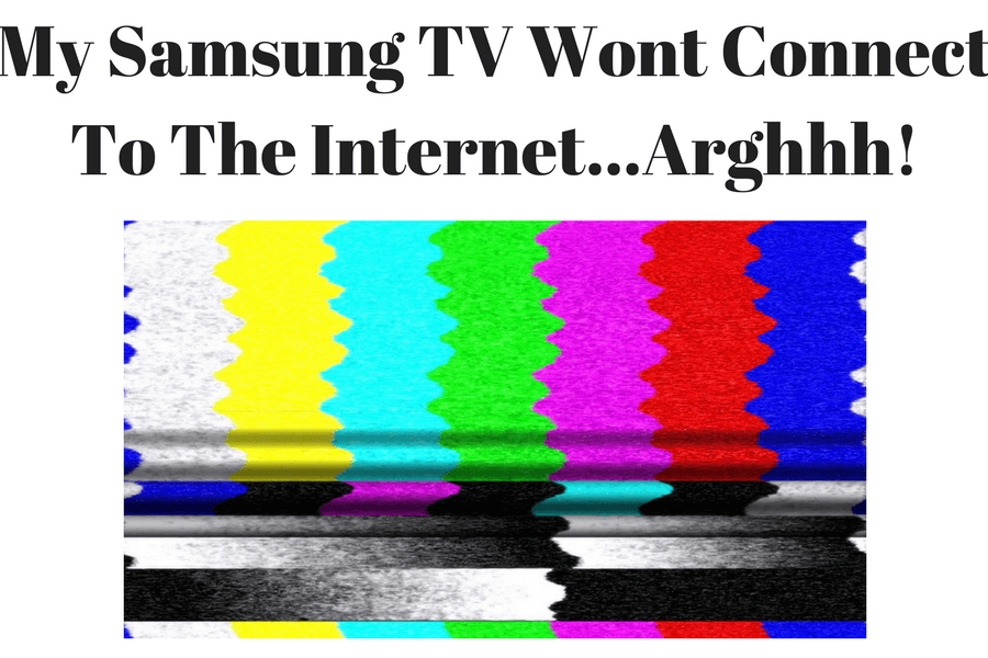 My Samsung Smart TV Wont Connect To The Internet | Smart TV Not