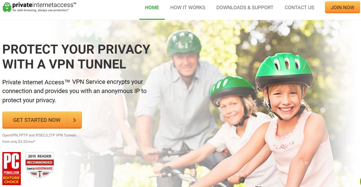 Private Internet Access - PIA - Home Page - Best Cheap And Affordable VPN Services