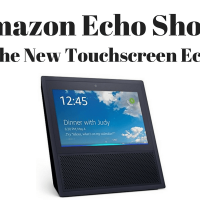 Amazon Echo Show: New Touchscreen Echo