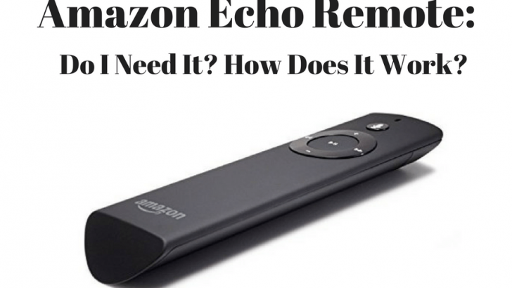 Amazon Echo Remote: Do I Need Echo's Voice Remote?
