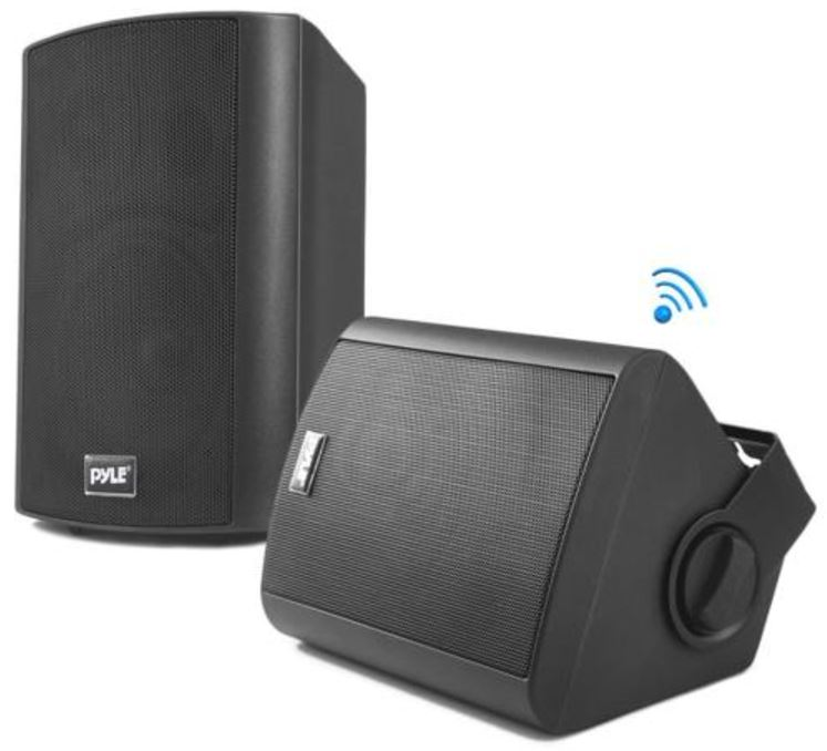Pyle Wall Mount PDWR62BTBK Speakers