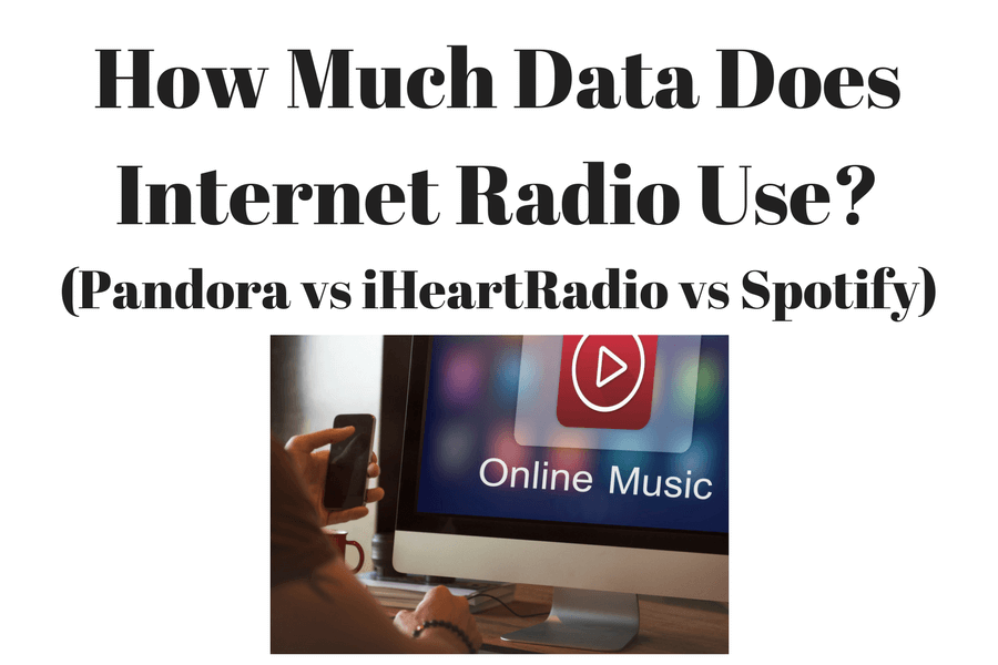 How Much Data Does Internet Music Use? (Pandora vs