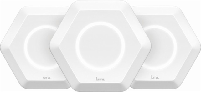 Luma Wi-Fi 3 pack Whole Home - Eero vs Luma