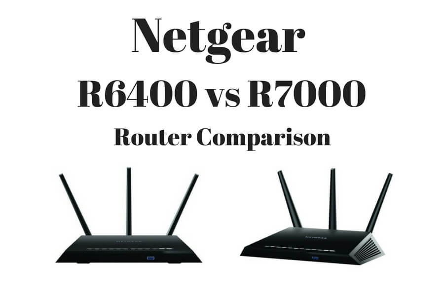 Netgear R6400 vs Nighthawk R7000 Wifi Routers Compared & Reviewed