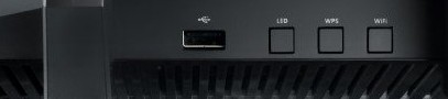 Asus RT-AC5300U Tri-Band Router Ports 2