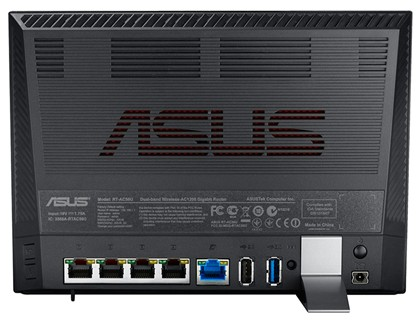 Why Get A Wireless Router With USB 3.0? - Asus RT-AC56U AC1200 Ports