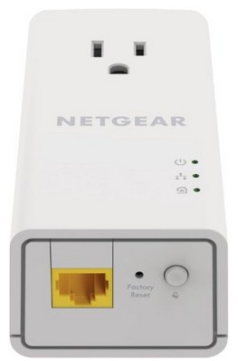 Netgear PLP1200 Powerline Ethernet Port