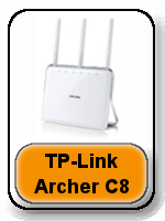 TP-Link Archer C8 AC1750 button - Asus RT-AC68R vs RT-AC68U