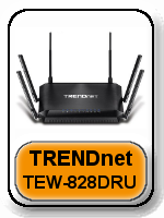 Trendnet TEW-828DRU Router - Best AC3200 Routers For 2017