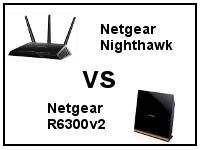 Netgear Nighthawk R7000 vs Netgear R6300v2