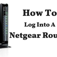 How To Log In To A Netgear Router