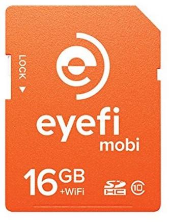 Eyefi Mobi 8GB SDHC Class 10 Wi-Fi Memory Card - MOBI-8-FF - Best Wi-Fi SD Memory Card
