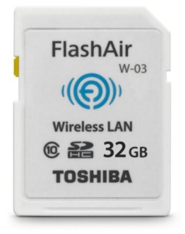 Toshiba 32GB FlashAir III PFW032U-1CCW - Best Wi-Fi SD Memory Card