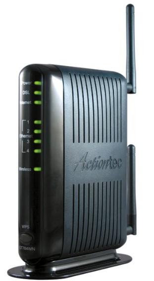 Actiontec 300 Mbps Wireless-N ADSL Modem Router GT784WN - Best DSL Modem/Wi-Fi Router Combo