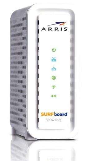 Arris Surfboard SBG6700AC