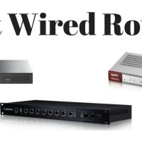 Best Wired Router (I Don't Want Wi-Fi!)