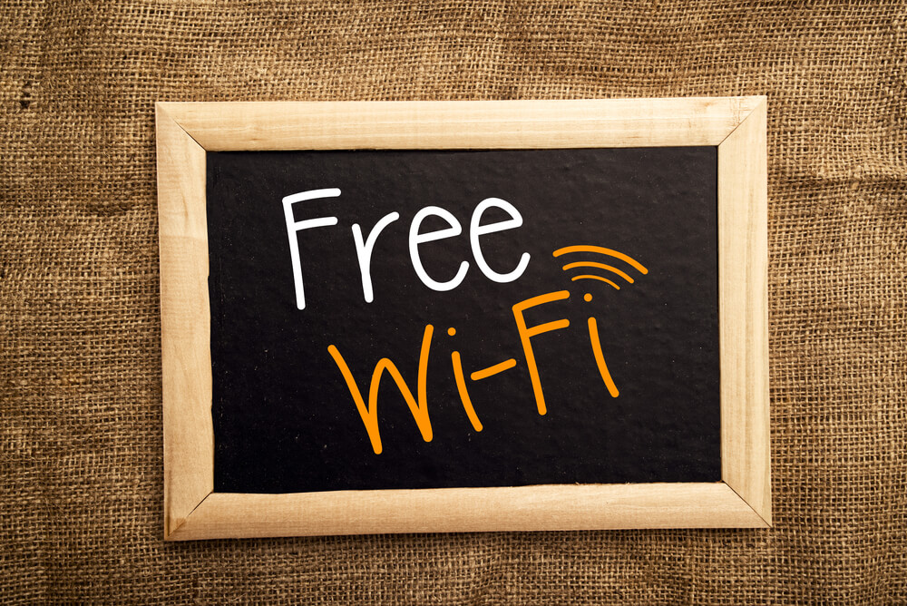 How to get free public wifi