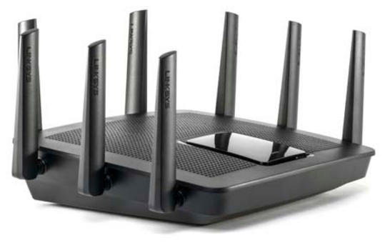Linksys EA9500 AC5400 MU-MIMO Wireless Router Angle View
