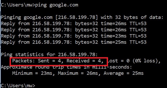 Connected to Wifi But No Internet  - ping google ok