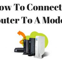 How To Connect A Router To A Modem