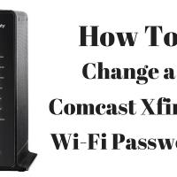 How To Change Comcast XFINITY Wi-Fi Password