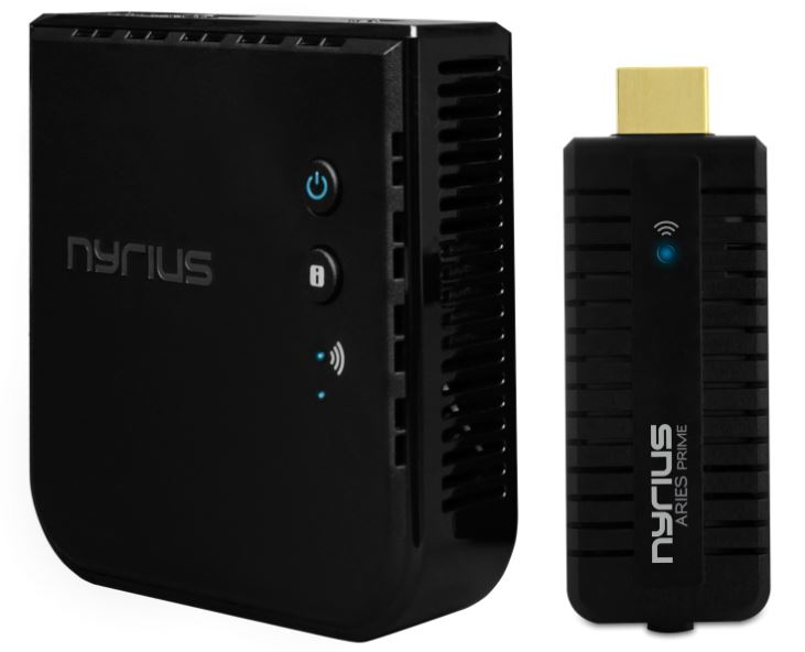 Nyrius ARIES Prime Wireless Video HDMI Transmitter and Receiver